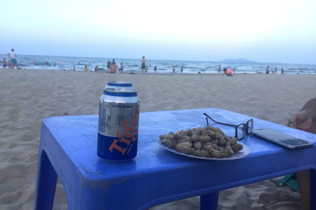 ベトナムらしさも満載のダナンのビーチ