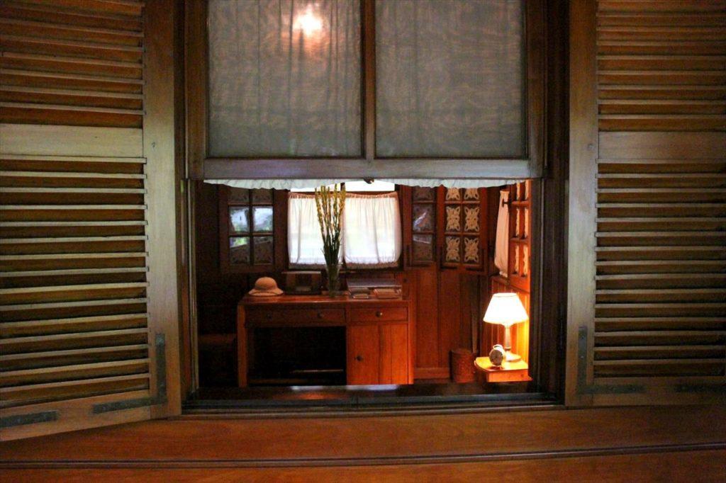 ハノイにあるホーチミンの家