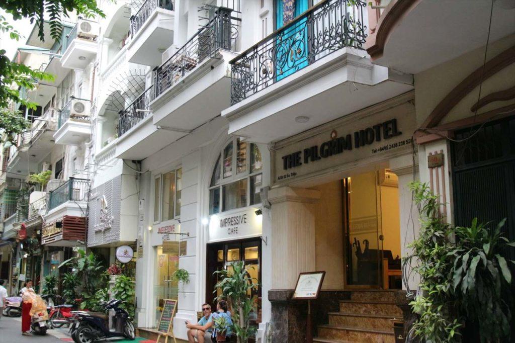 アウチウ通りのホテル