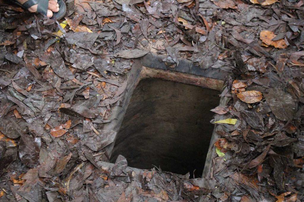 フェイク用の穴