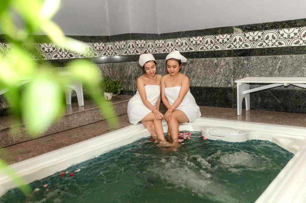 ワンスパのプライベート大浴場