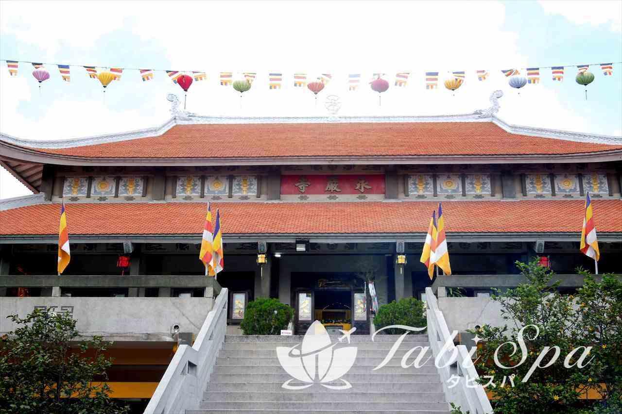 永厳寺の本堂
