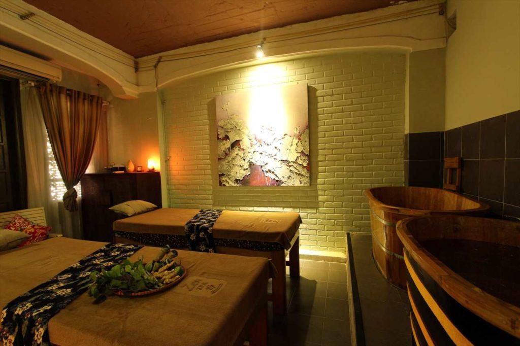 ゼンスパの個室