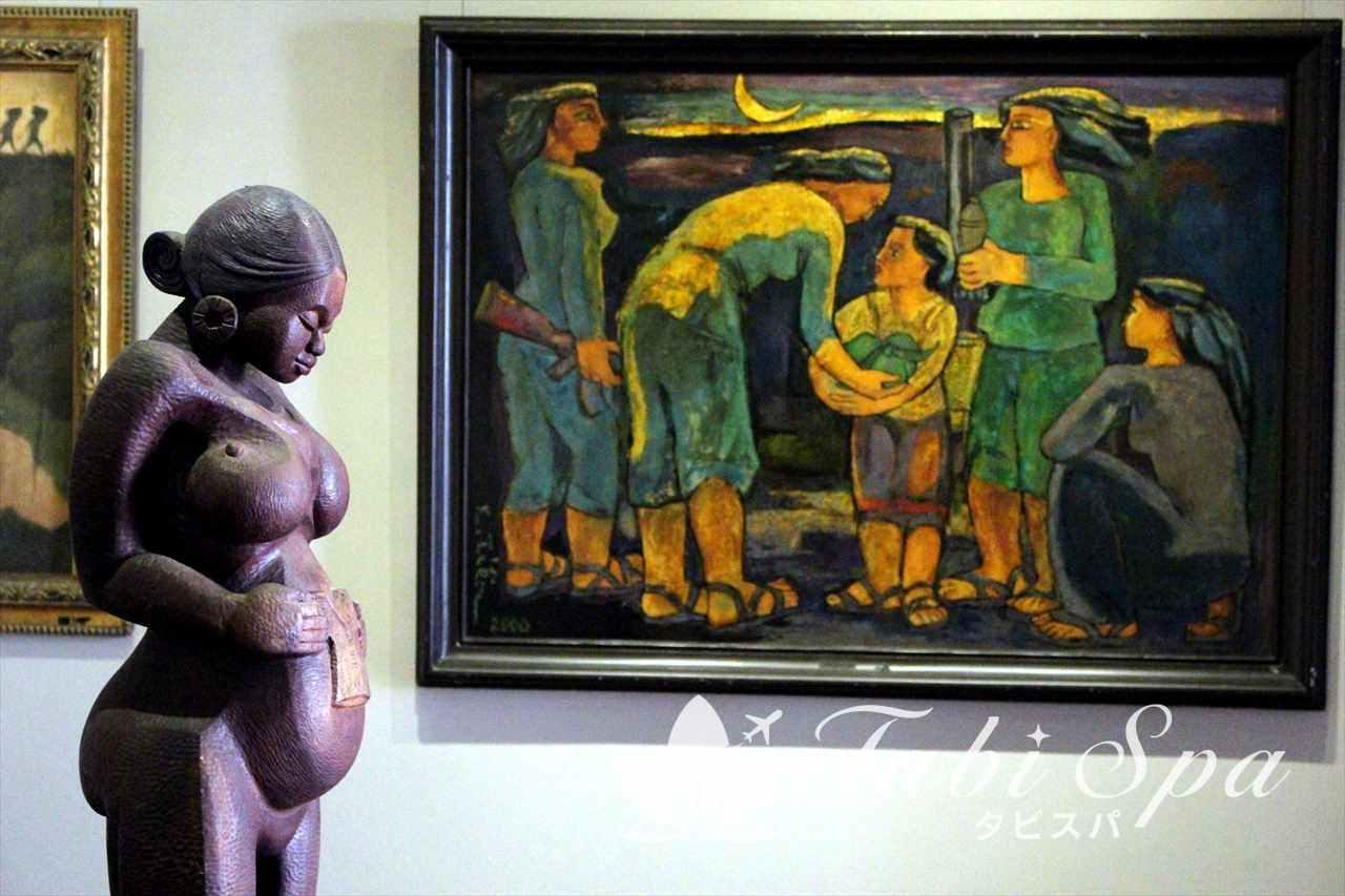 美術博物館の芸術品
