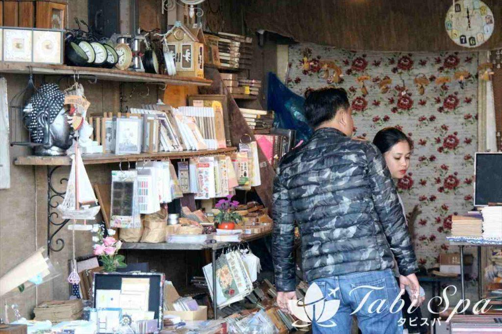 ダナンのバクダン通り傍の雑貨店