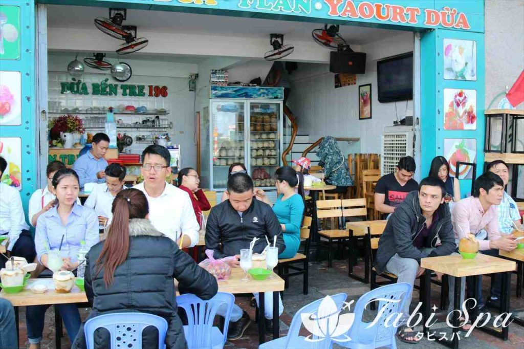 バクダン通り周辺のローカルカフェ