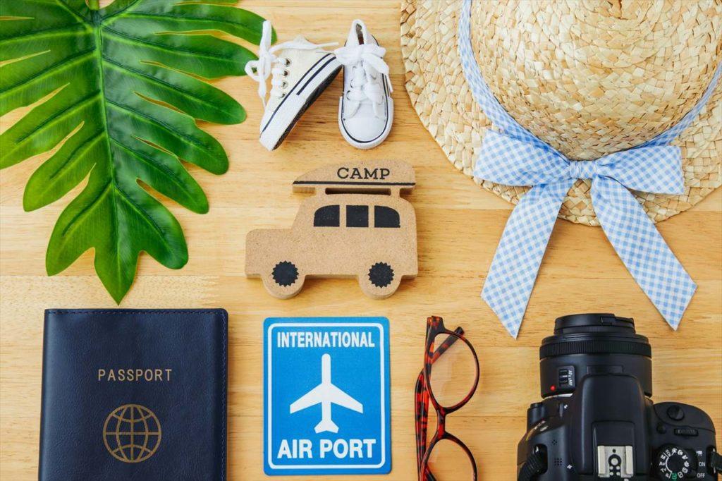 海外旅行の準備写真