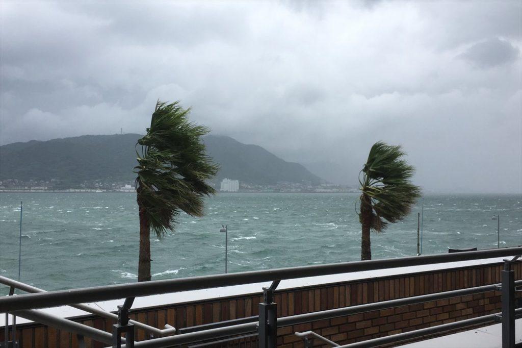 台風のイメージ写真