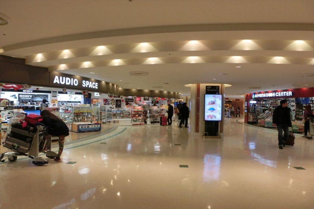 成田空港内の様子