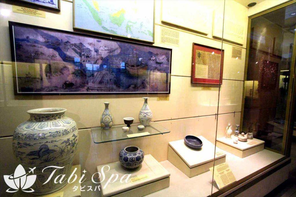 ベトナム国立歴史博物館の展示品