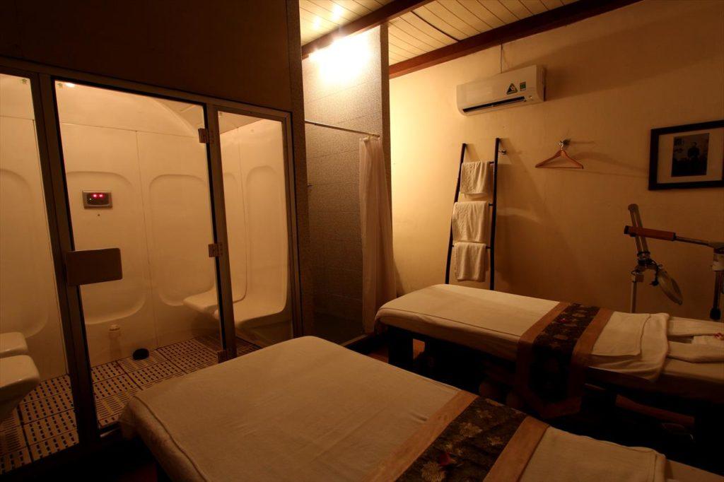 インドシンスパの個室