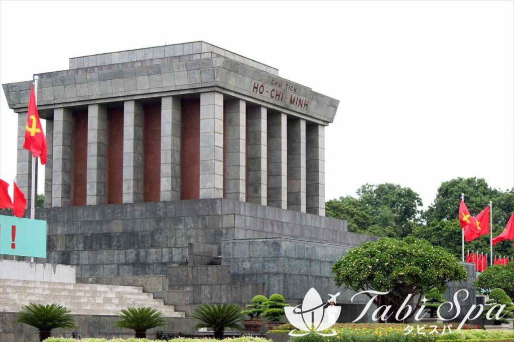 ホーチミン廟の様子