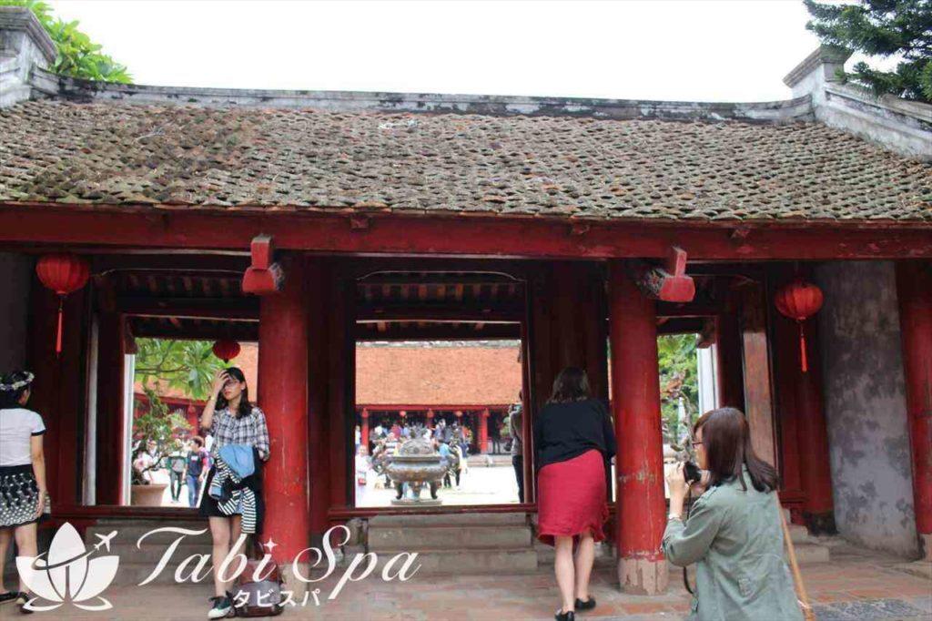 文廟の正門