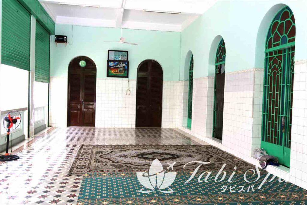 サイゴンセントラルモスクの内部
