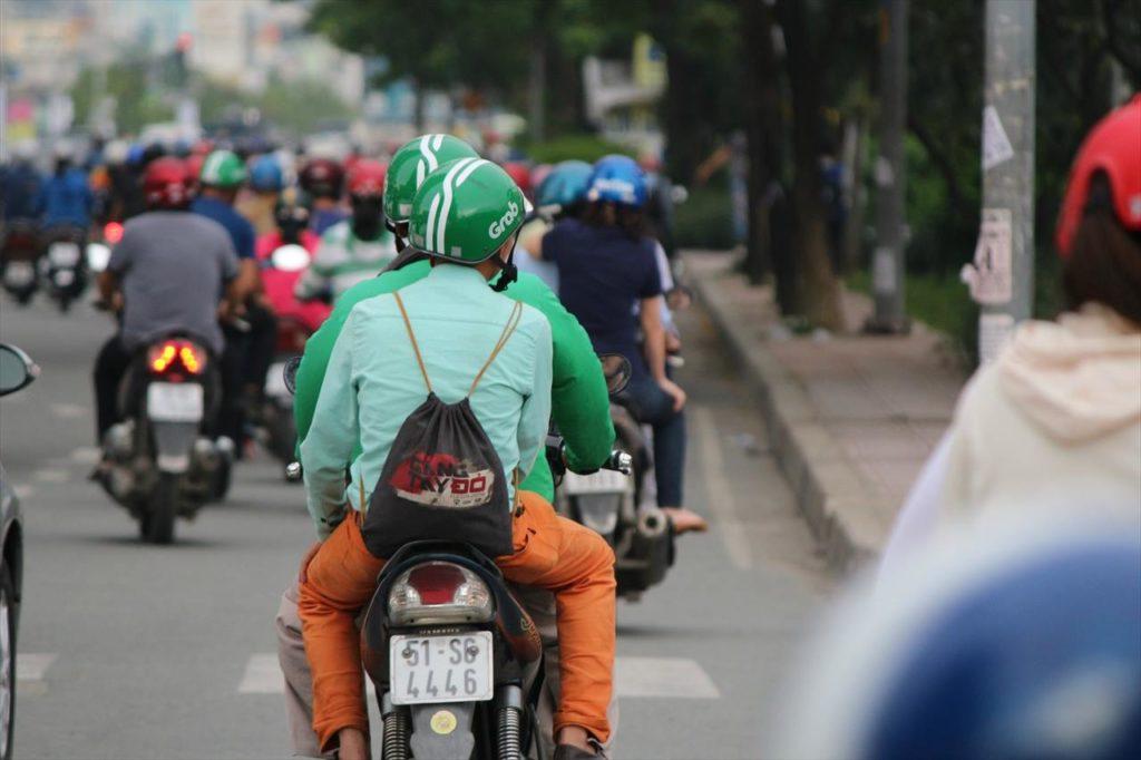 Grabのバイク