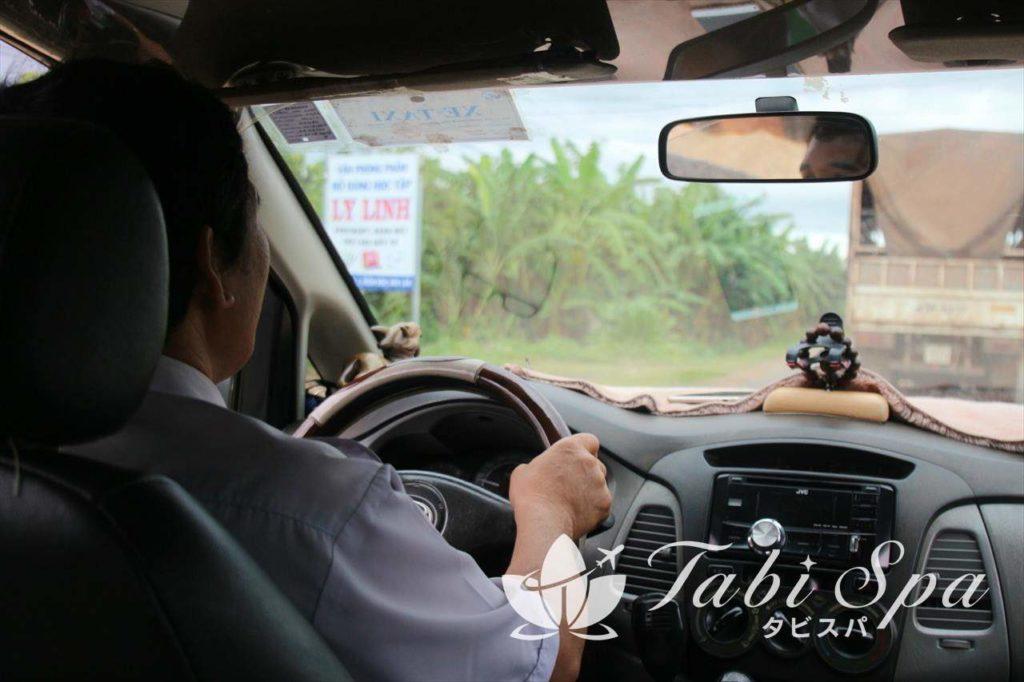 タクシー車両の様子