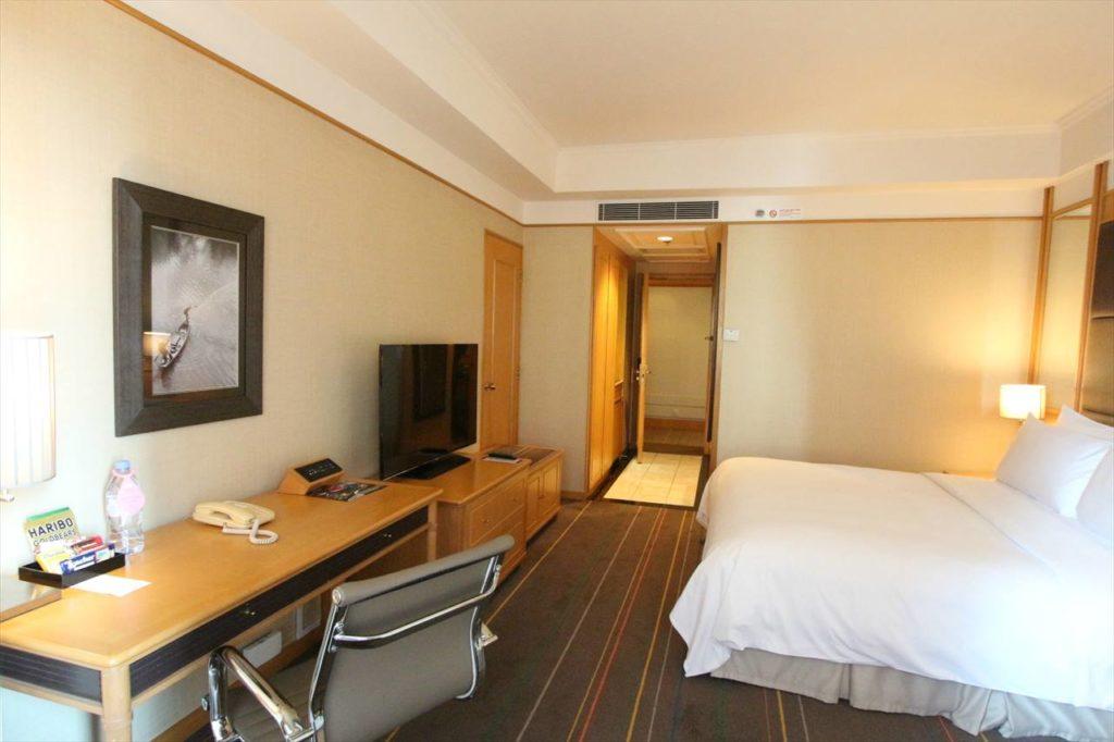 ホーチミンのホテル客室