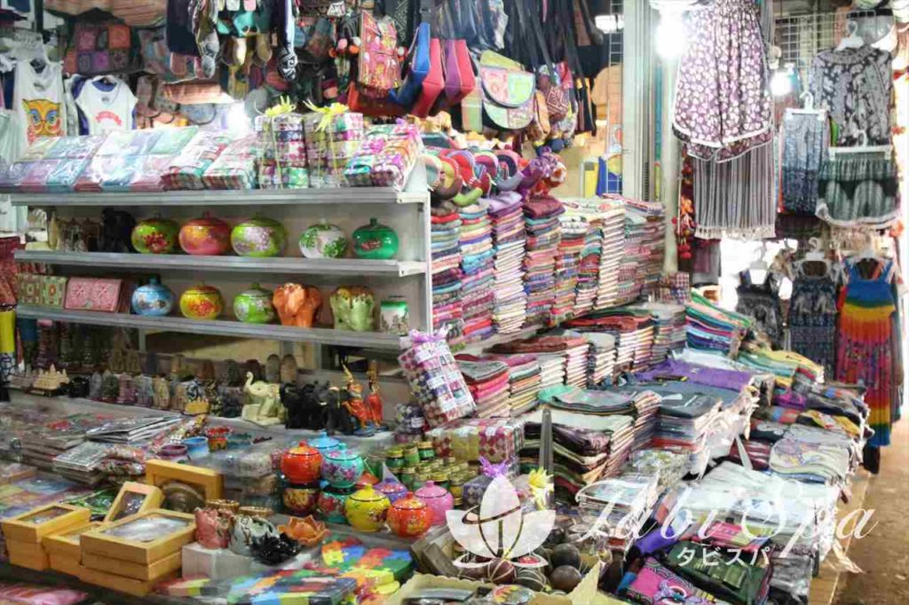 オールドマーケット内の雑貨売り場