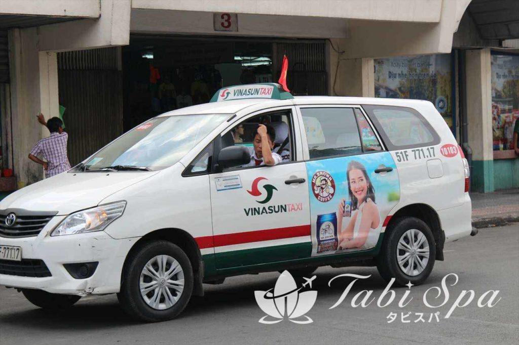 ベトナム大手タクシー会社ビナサンタクシー