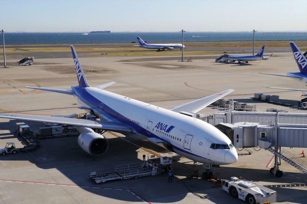 ANAの飛行機機体
