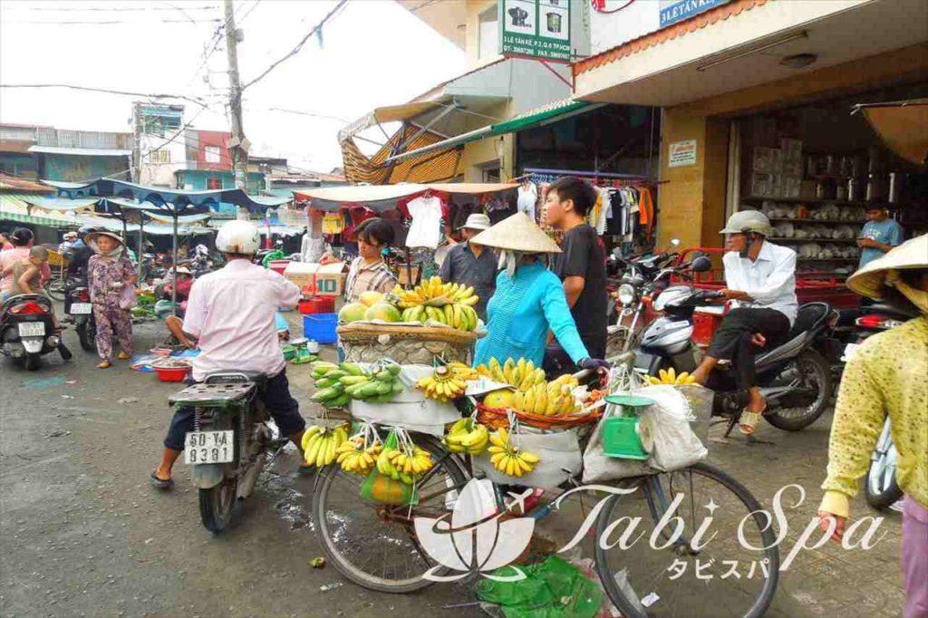 チョロンのビンタイ市場周辺