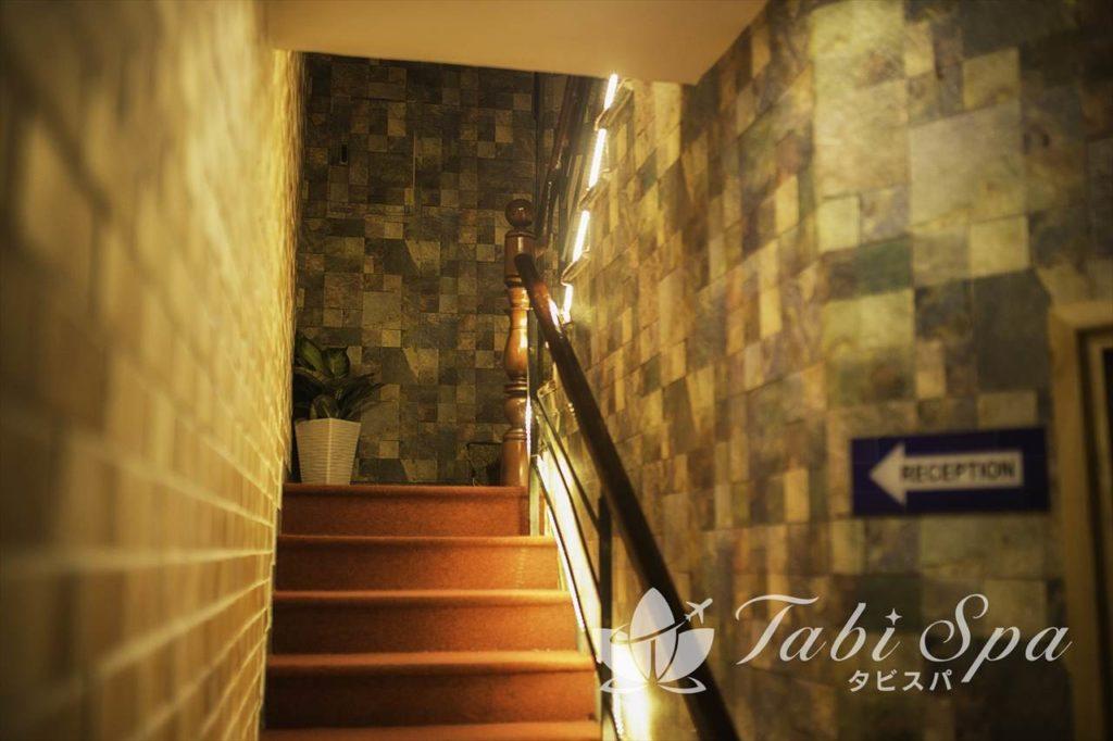 フジスパの階段
