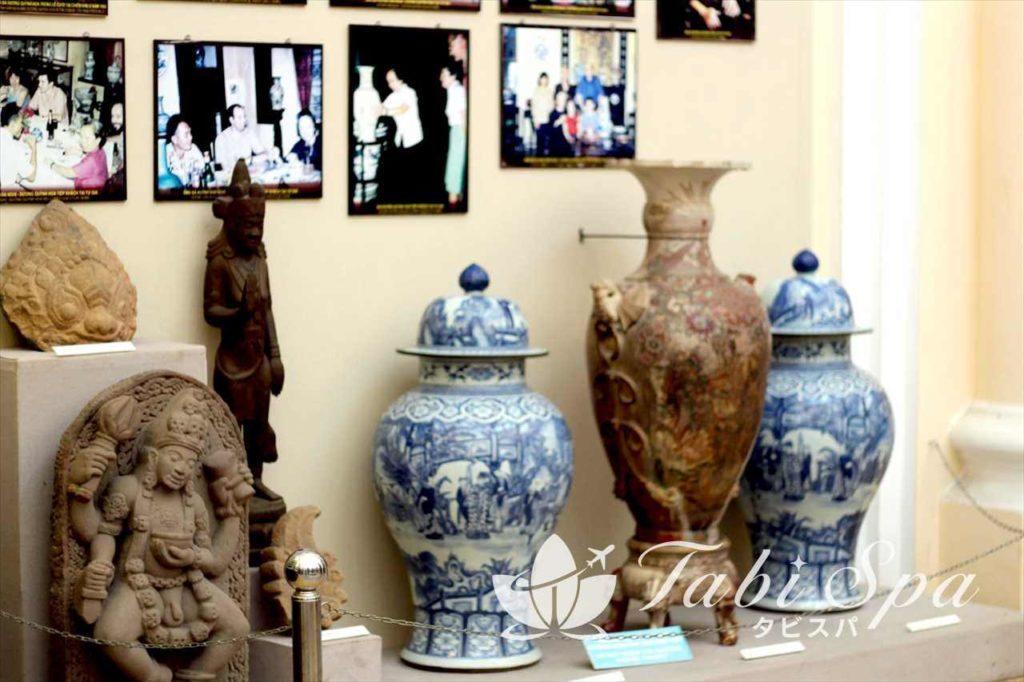 歴史博物館の展示品