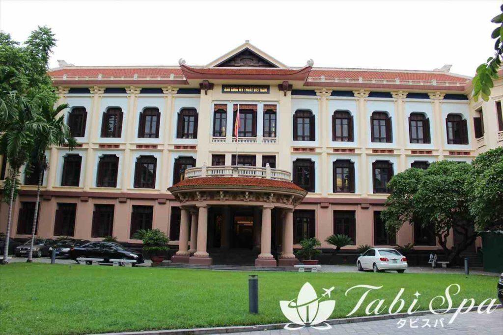 ベトナム国立美術博物館の外観