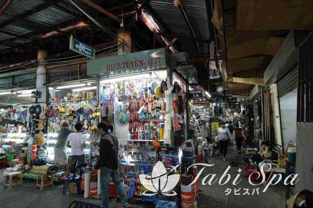 ヤンシン市場の様子