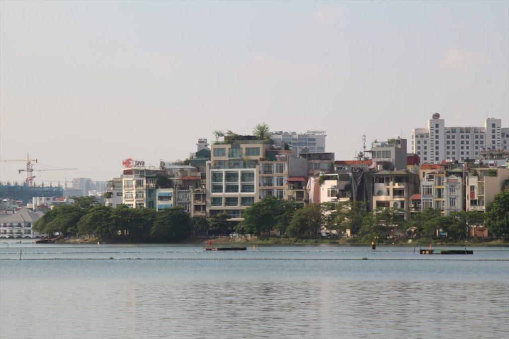 タイ湖の様子