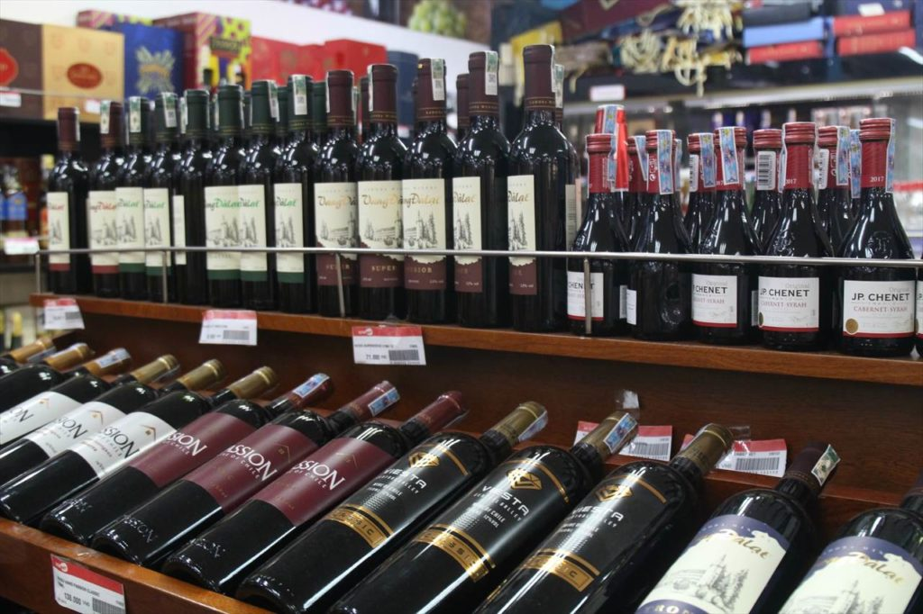 ベトナムといえばワインも有名