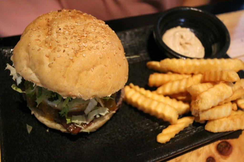 バーガーリパブリックのハンバーガー