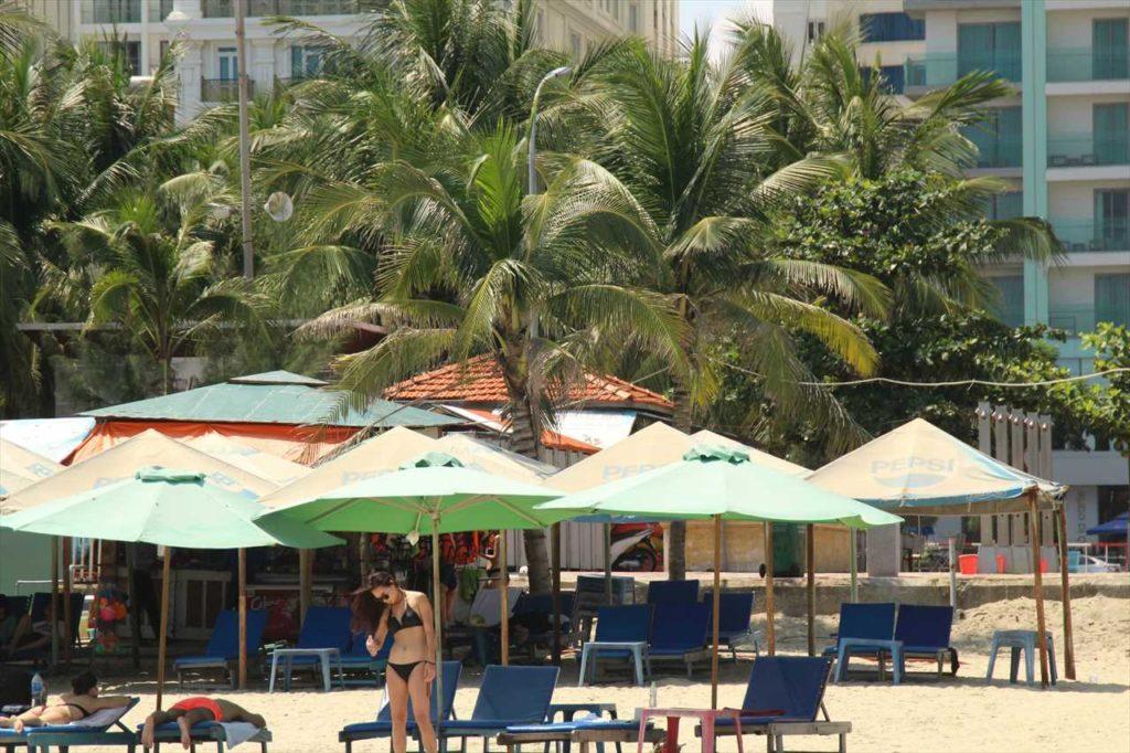 ダナンのミーケービーチの写真