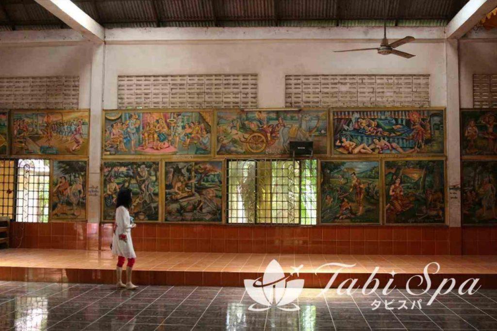 寺院内の様子