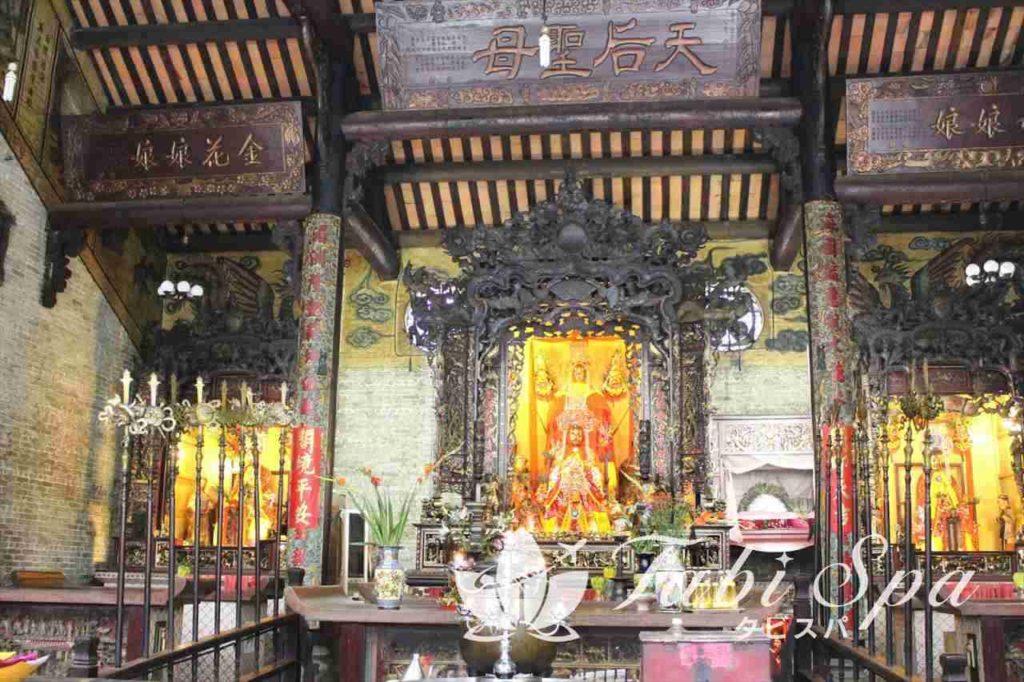 媽祖の仏像