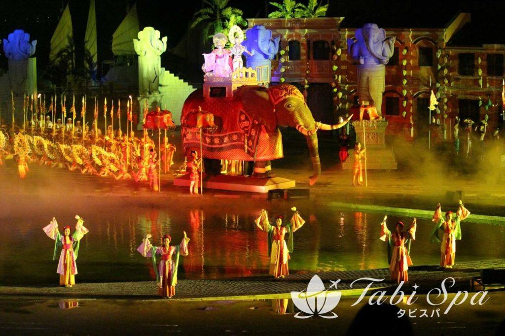 ダナン旅行最大の観光スポット「メモリーショー」