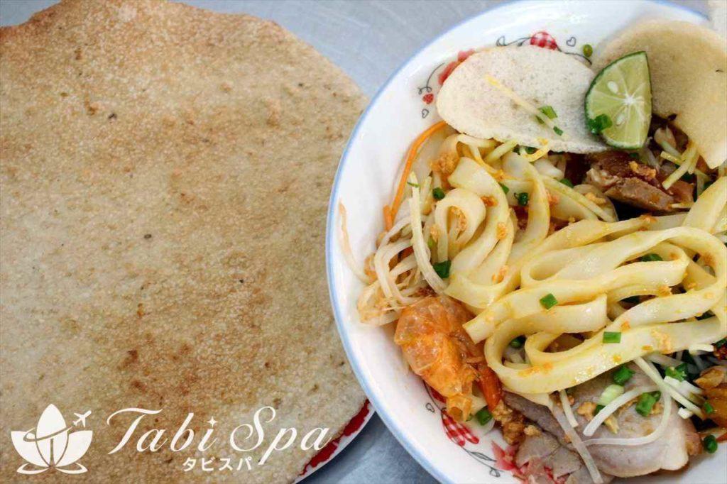 ベトナム中部を代表する名物麺「ミークワン」