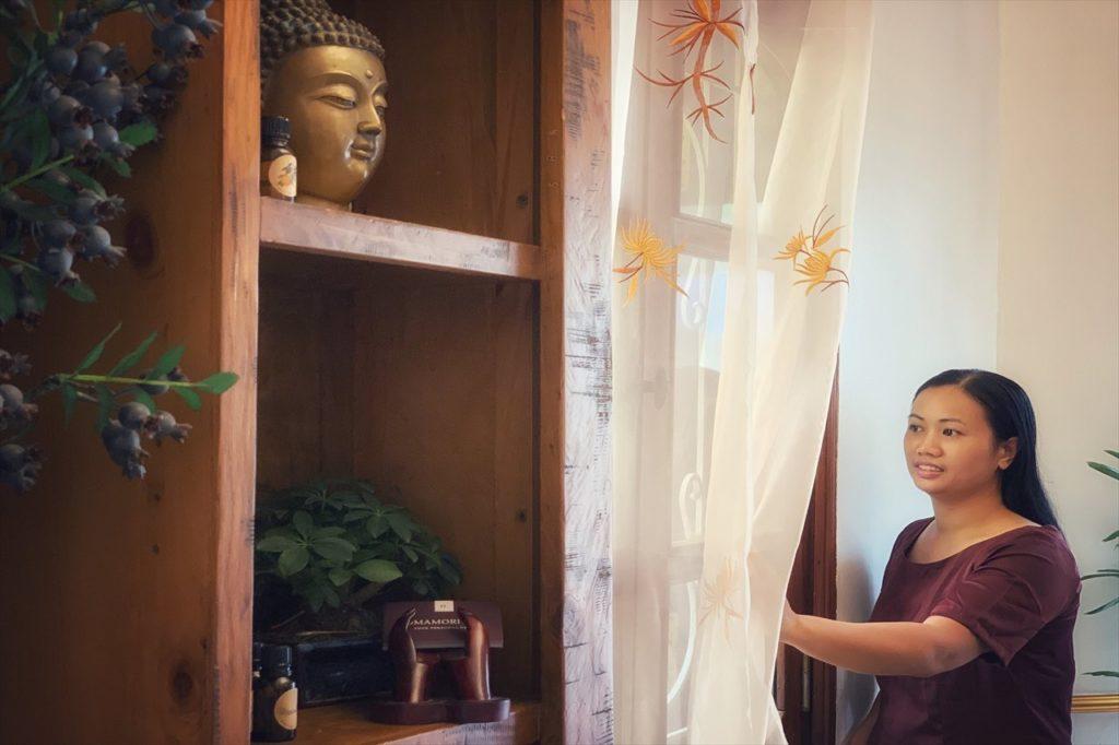 ベトナムの伝統を重んじる「オマモリスパ」