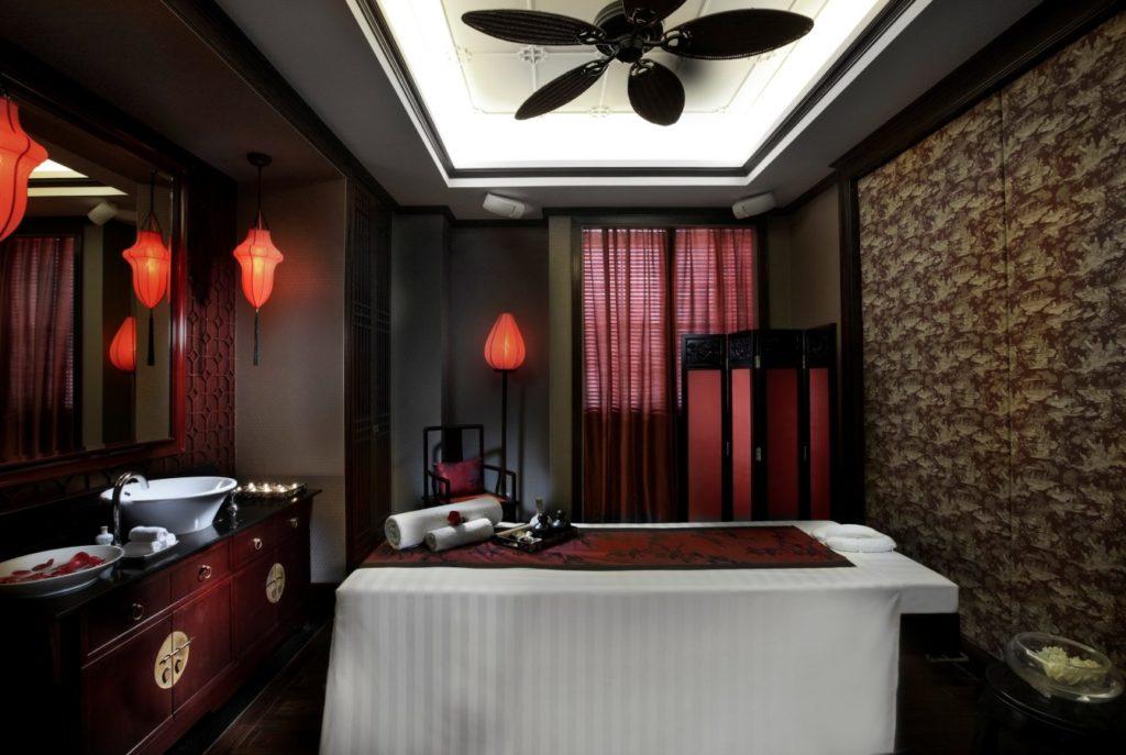ソフィテルホテル内の「ル・スパ(Le Spa)」