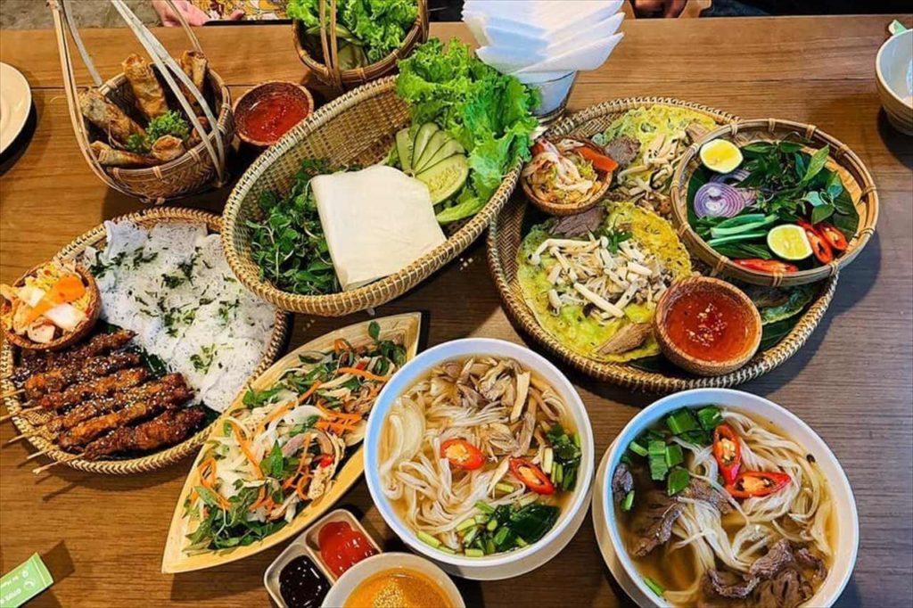 ベトナムの名物料理が勢ぞろい