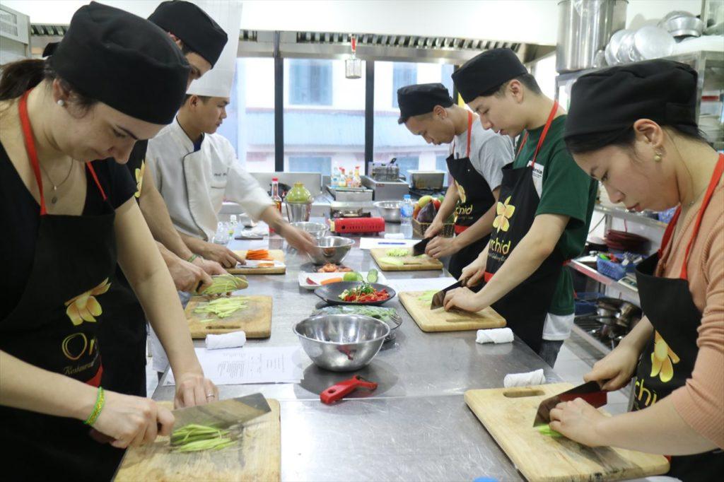 料理教室も開催中