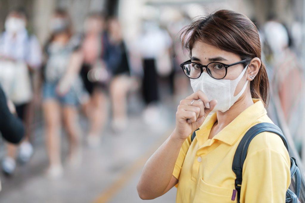 マスクは手に入りづらいので、極力日本から持ってくるように