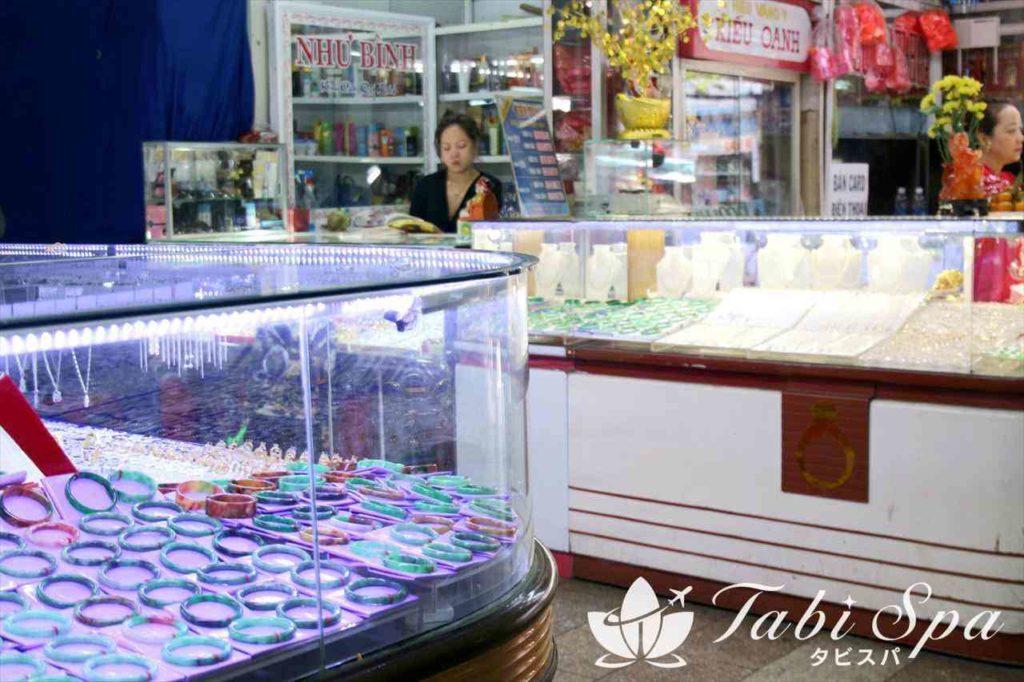真珠と翡翠(ヒスイ)のアクセサリーが人気