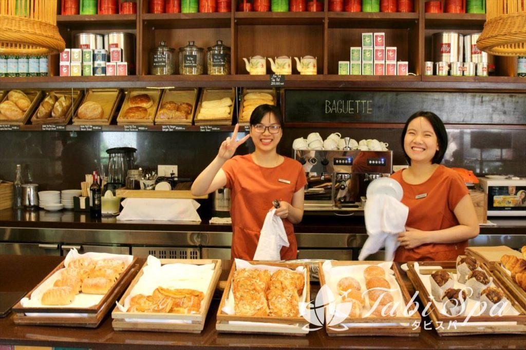 カフェ&ベーカリー「Baguette」のスタッフ