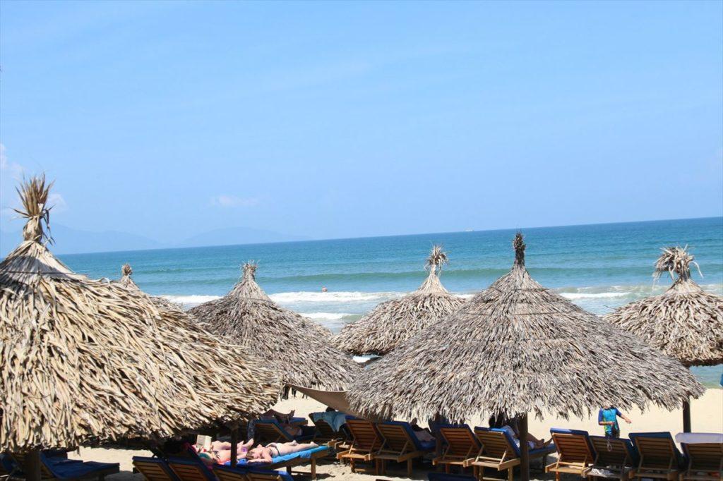 ダナン&ホイアンで半日ほどビーチを満喫!