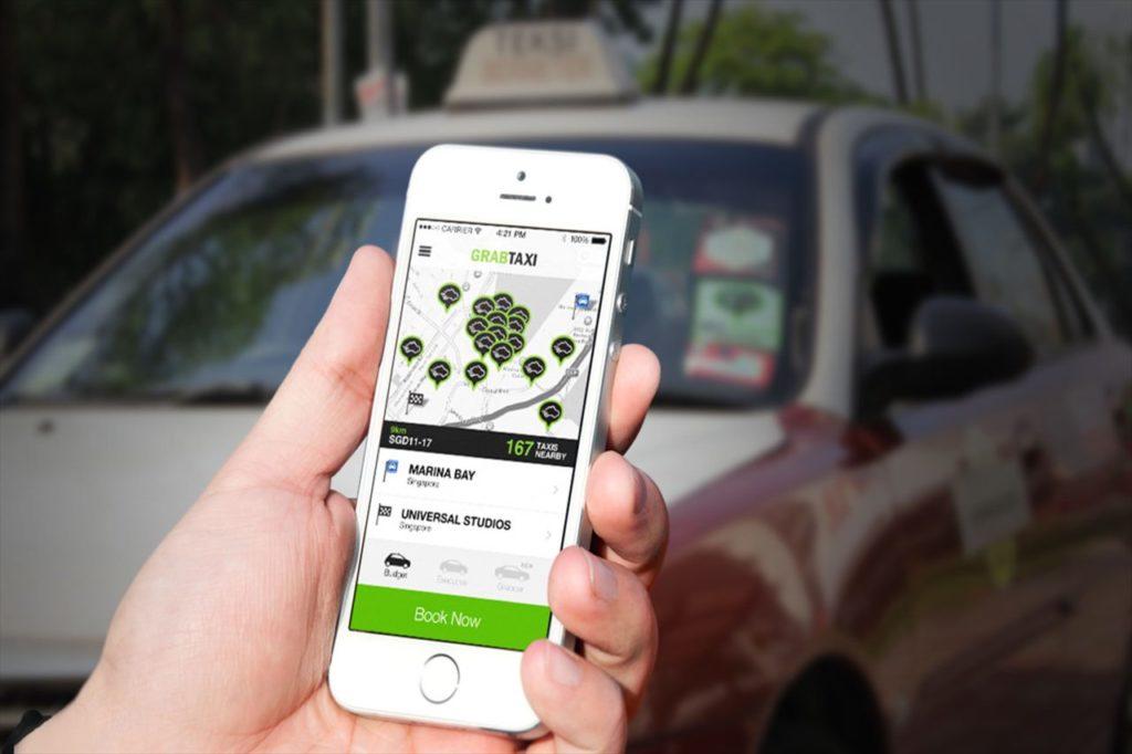 配車アプリ