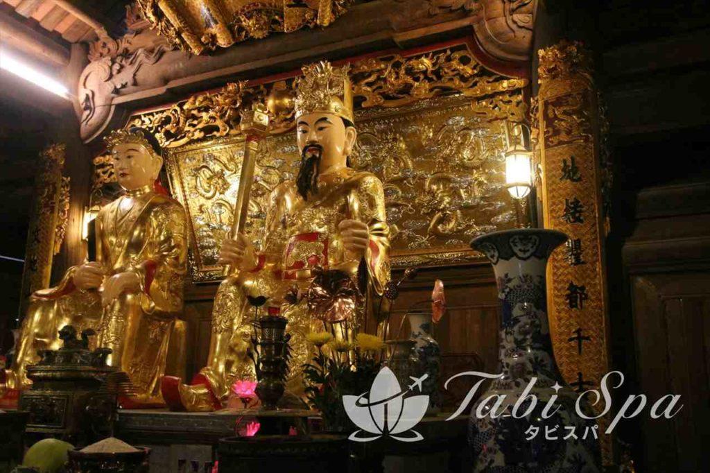 チャンアンの寺