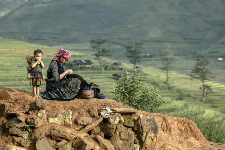 少数民族と交流ができる。アジアの秘境観光「サパ」