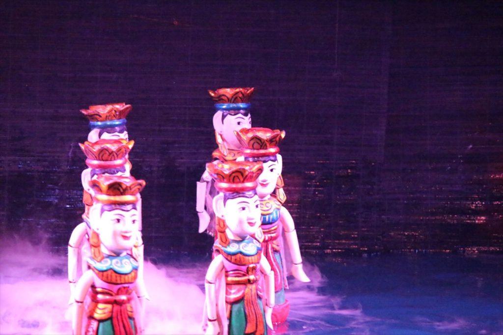 ハノイの水上人形劇場