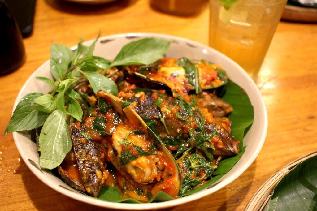 レストラン「ニャートゥ」の料理